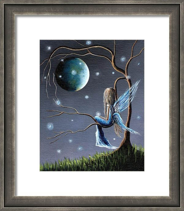 Shawna Erback - Beautiful World Of Fairie... Print