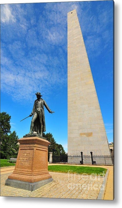 Catherine Reusch  Daley - Bunker Hill Monument Print
