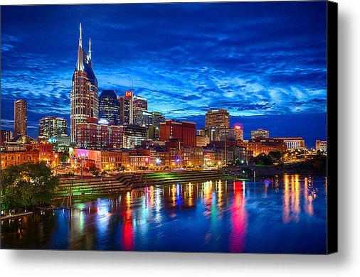 Dan Holland - Nashville Skyline Print