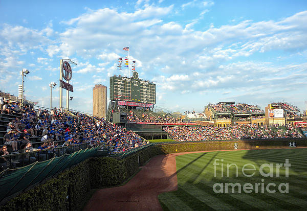 Thomas Woolworth - Chicago Cubs Scoreboard 0... Print