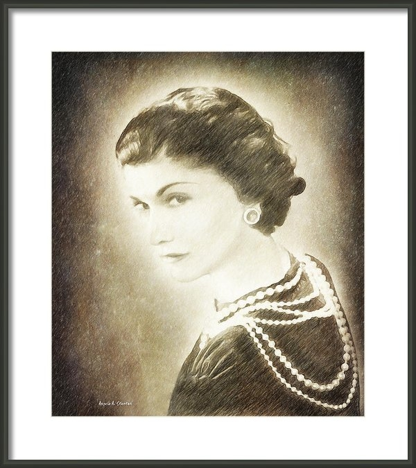 Angela A Stanton - The Icon of Elegance Print