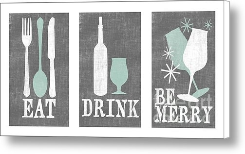 Misty Diller - Eat Drink Be Merry Print