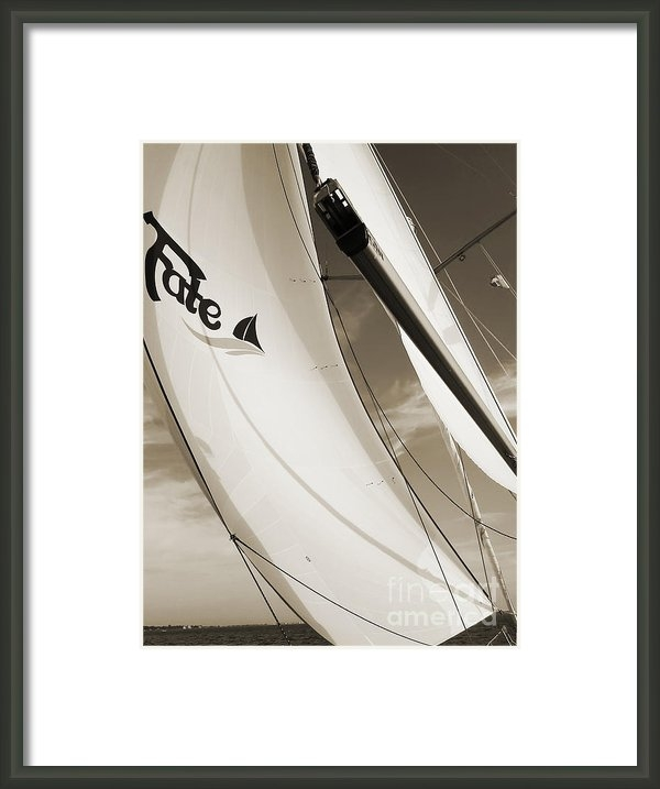 Dustin K Ryan - Sailboat Sails and Spinna... Print