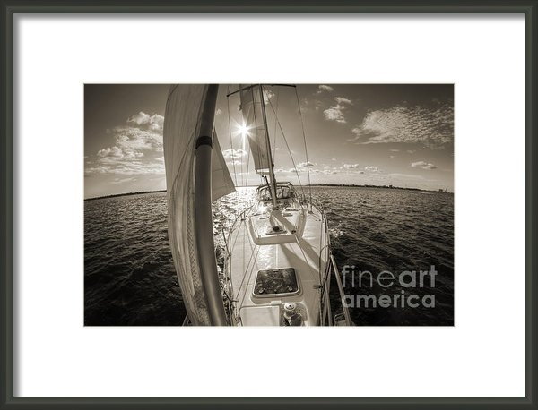 Dustin K Ryan - Sailboat Sailing Charlest... Print