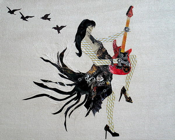 Holly Anderson - Guitar Goddess Print