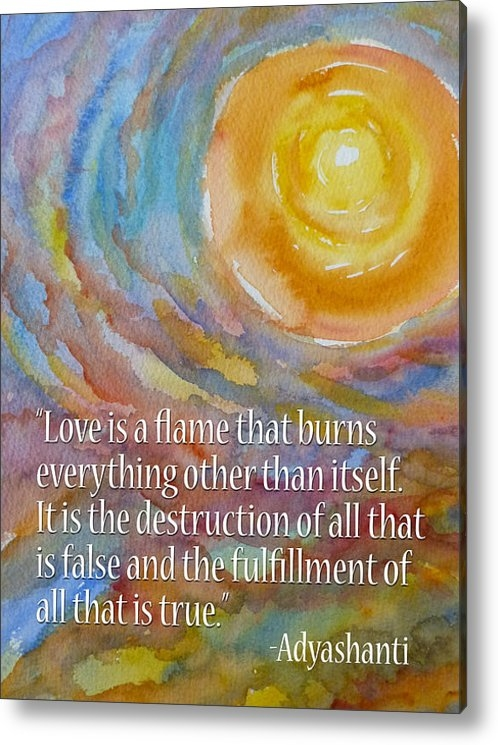 Susan Porter - Love Is a Flame Print