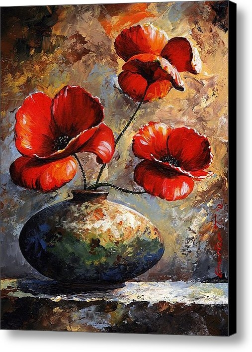 Emerico Imre Toth - Red Poppies 02 Print