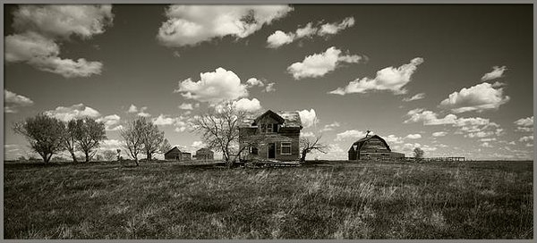 Patrick Ziegler - House on the Prairie Print