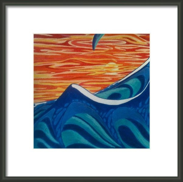 Tammi Byrum - Sunset Tsunami Print