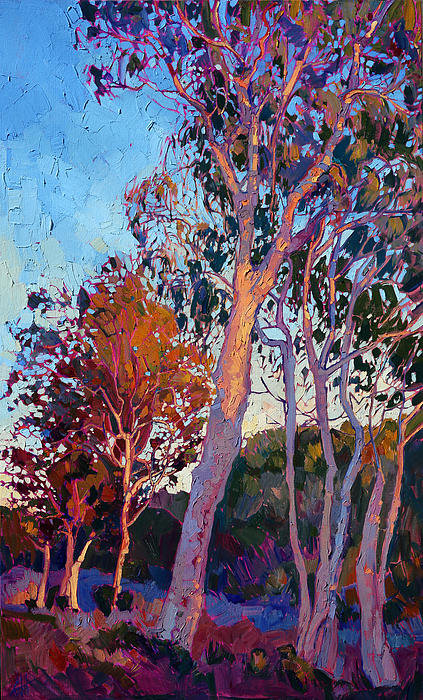 Erin Hanson - Eucalyptus in Color Print