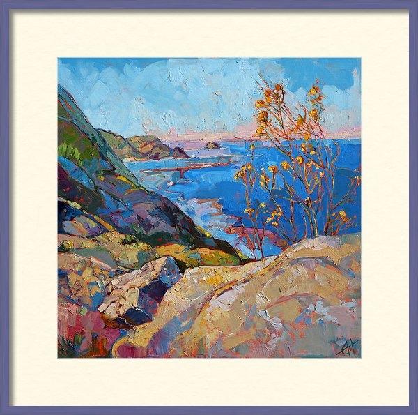 Erin Hanson - Coastal Blooms Print