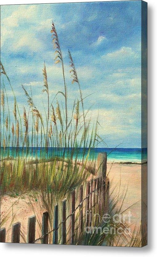 Gabriela Valencia - Nice Day at the Beach Print