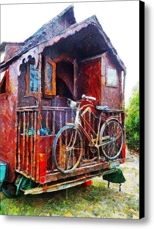 Steve Taylor - Two Wheels On My Wagon Print