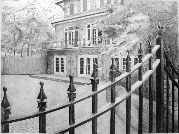 Danyelle McDow - Houston Mill House Print