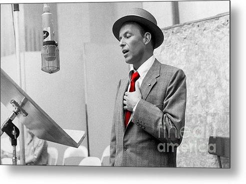 Marvin Blaine - Frank Sinatra Painting Print