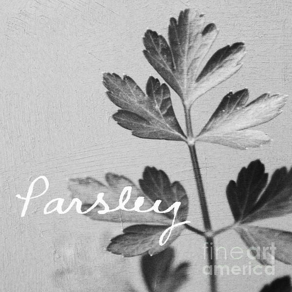 Linda Woods - Parsley Print