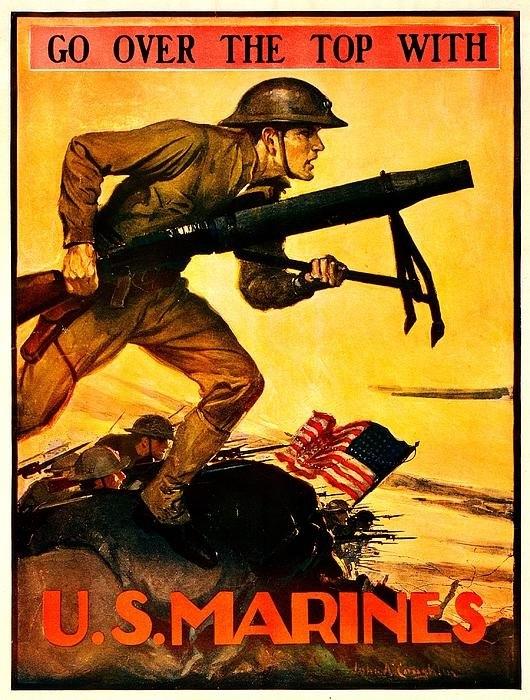 Benjamin Yeager - Recruiting Poster - WW1 -... Print