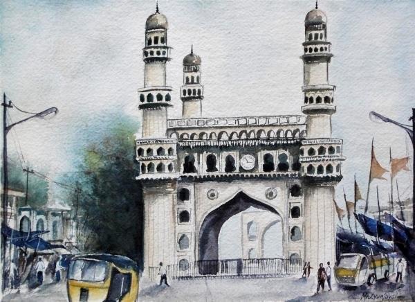 Mrutyunjaya Dash - Living History Charminar ... Print