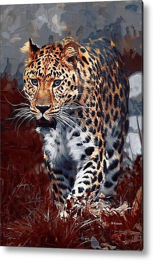 Dr Marshall Lawson - Leopard Hunting Print