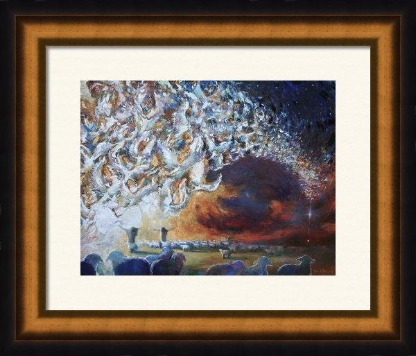 Daniel Bonnell - Seeing Shepherds Print