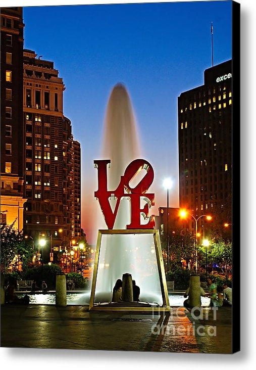 Nick Zelinsky - Philadelphia LOVE Park Print