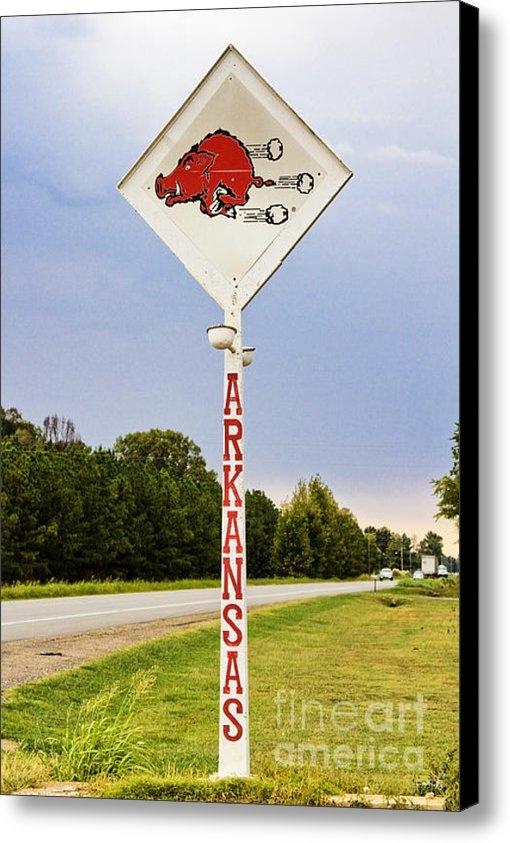Scott Pellegrin - Hog Sign Print