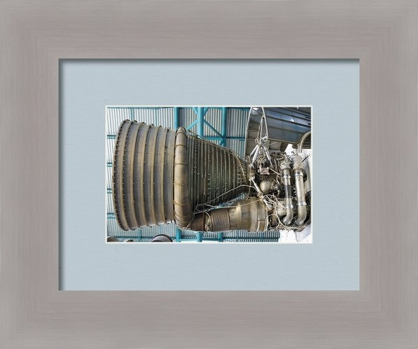 Mark Williamson - F1 Engine On The Saturn V... Print