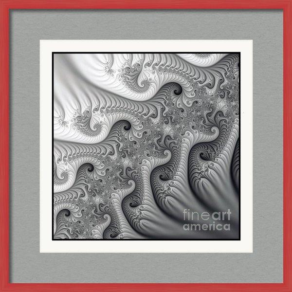 Odon Czintos - Fantasy fractals Print