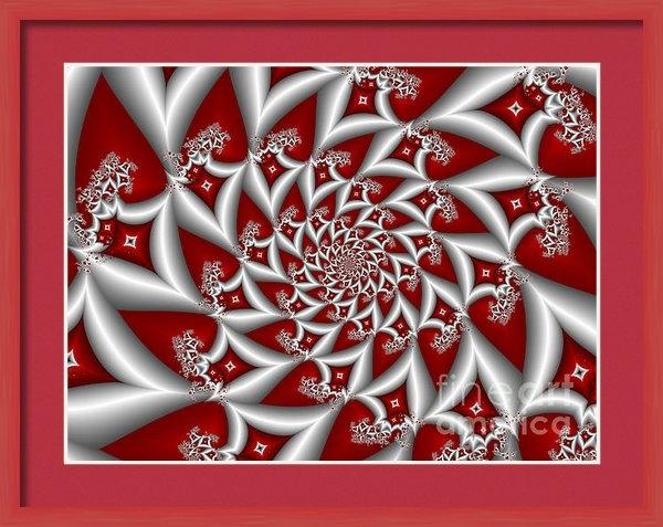 Gabiw Art - Red an Gray Print