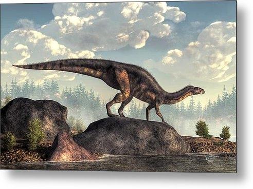 Daniel Eskridge - Plateosaurus Print