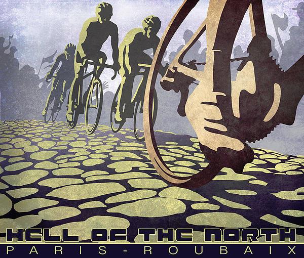 Sassan Filsoof - HELL OF THE NORTH retro c... Print