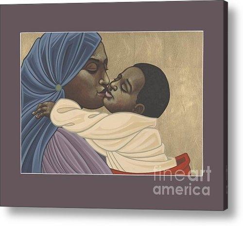 William Hart McNichols - Mother and Child of Kibeh... Print