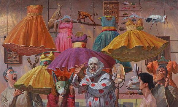 Alfredo Arcia - Mind Games Print