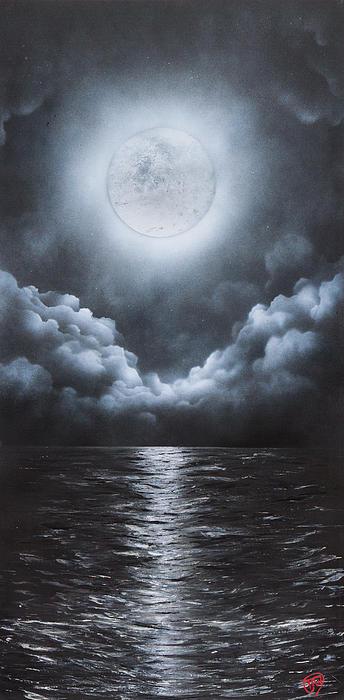 Tyrone Webb - Super Moon Print