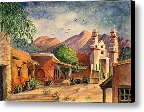 Marilyn Smith - Old Tucson Print