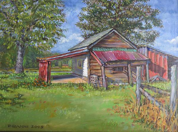 Philip Gianni - Small Barn in Lexington S... Print