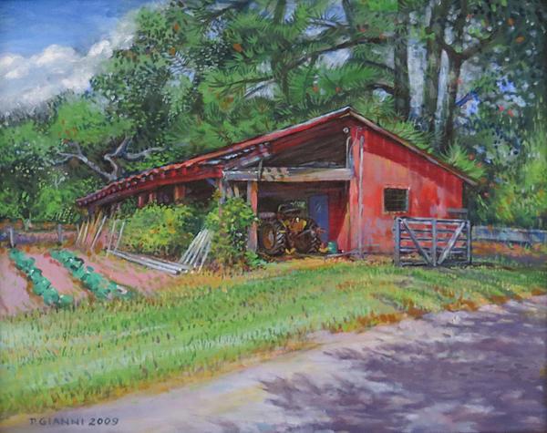 Philip Gianni - Tractor Barn in Lexington... Print