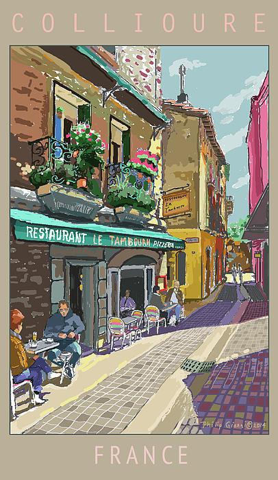 Philip Gianni - Colliure 2 Print