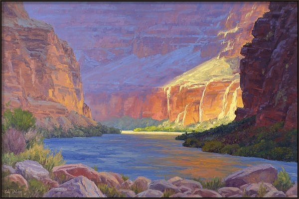Cody DeLong - Inner Glow of the Canyon Print
