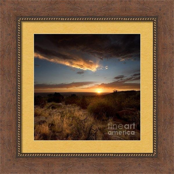 Matt Tilghman - Desert Sunset Print