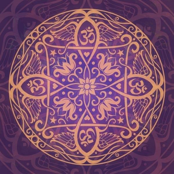 Cristina McAllister - Aum Awakening Mandala Print