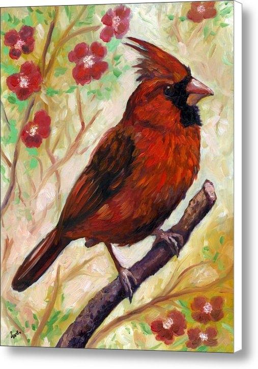 Eve  Wheeler - Spring Cardinal Print