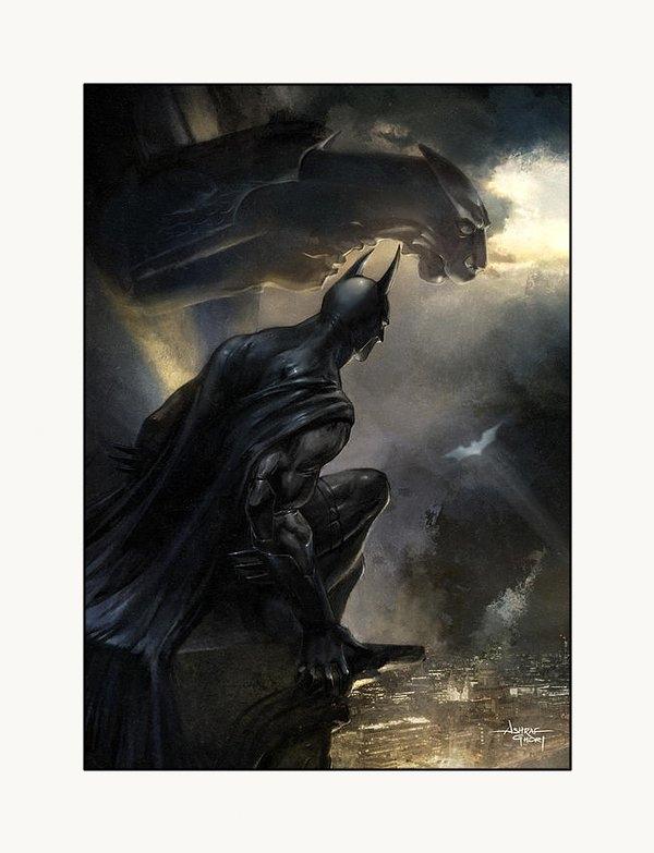 Ashraf Ghori - Batman The Signal Print