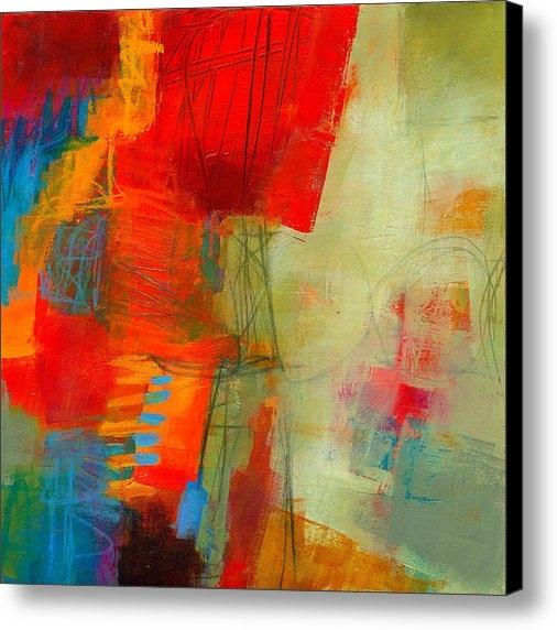 Jane Davies - Blue Orange 1 Print