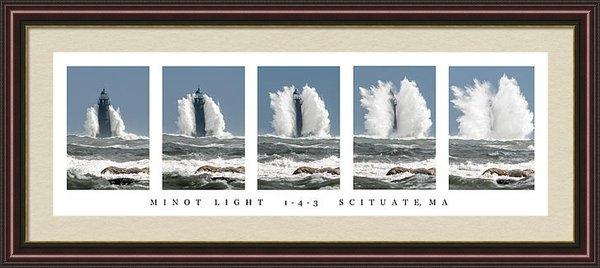Michael Snow - Minot Light Scituate Print