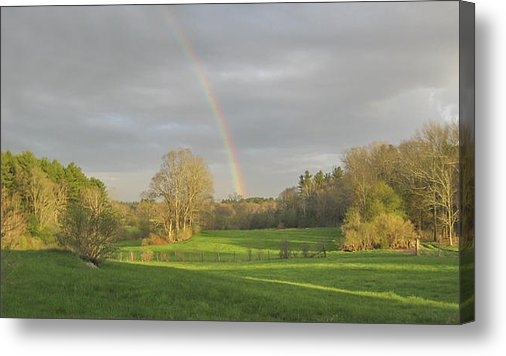Bill McEntee - Rainbow 250 Elm Street Ea... Print