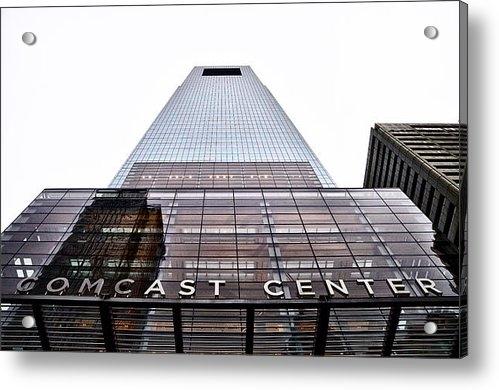 Bill Cannon - Comcast Center Philadelph... Print