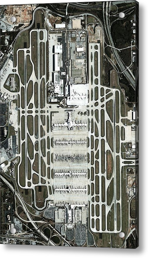 Frank Tozier - Atlanta Airport Print