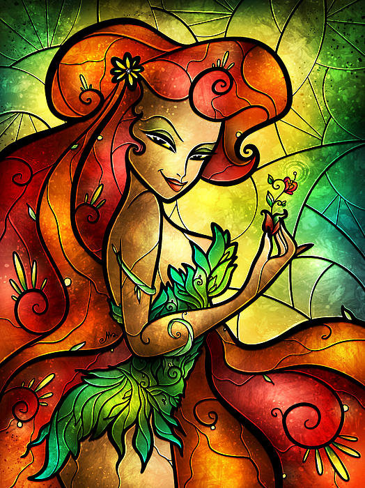 Mandie Manzano - My Garden Needs Tending Print