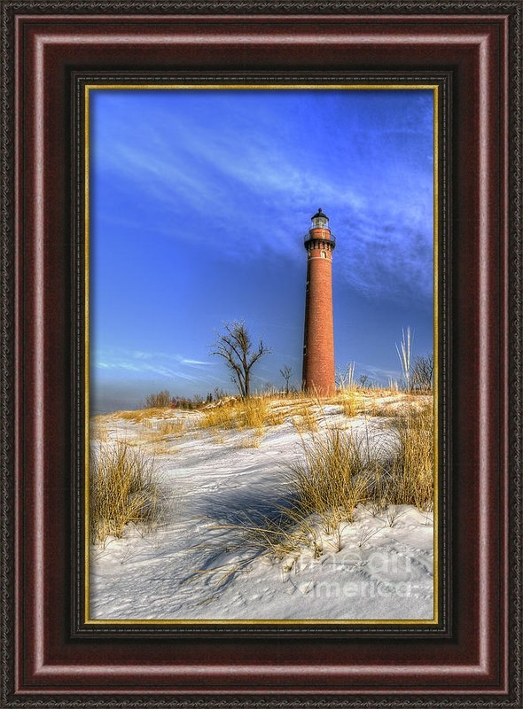 Twenty Two North Photography - Little Sable Lighthouse W... Print